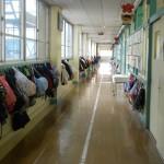 Коридор в японской школе