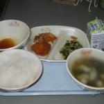 обед в японской школе